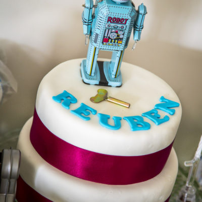 Robot Themed Birthday Party