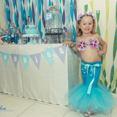 Birthday Party - Mermaid Poppie