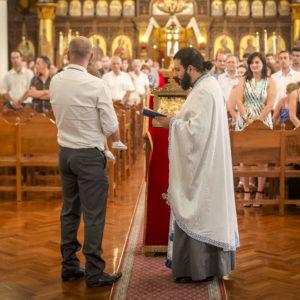 Greek Orthodox Christening