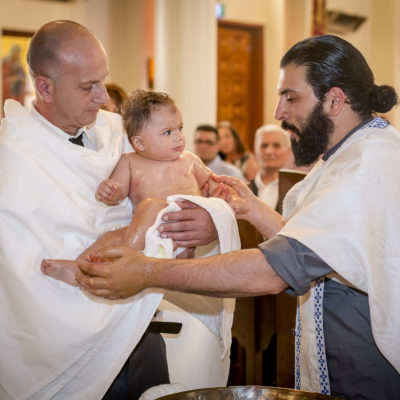 Greek Orthodox Christening
