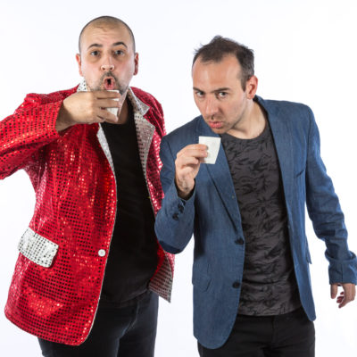 James Liotta and Piero Piavattene Comedians Promotional