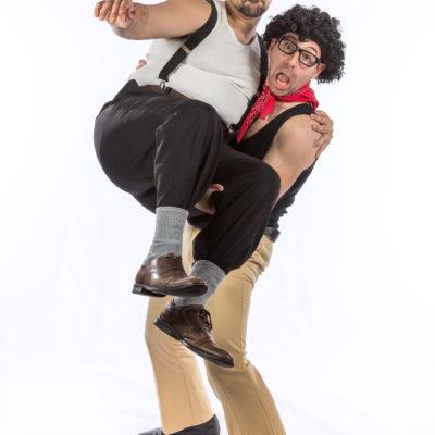 James Liotta & Piero Piavattene - Comedians Pippo and Pasquale